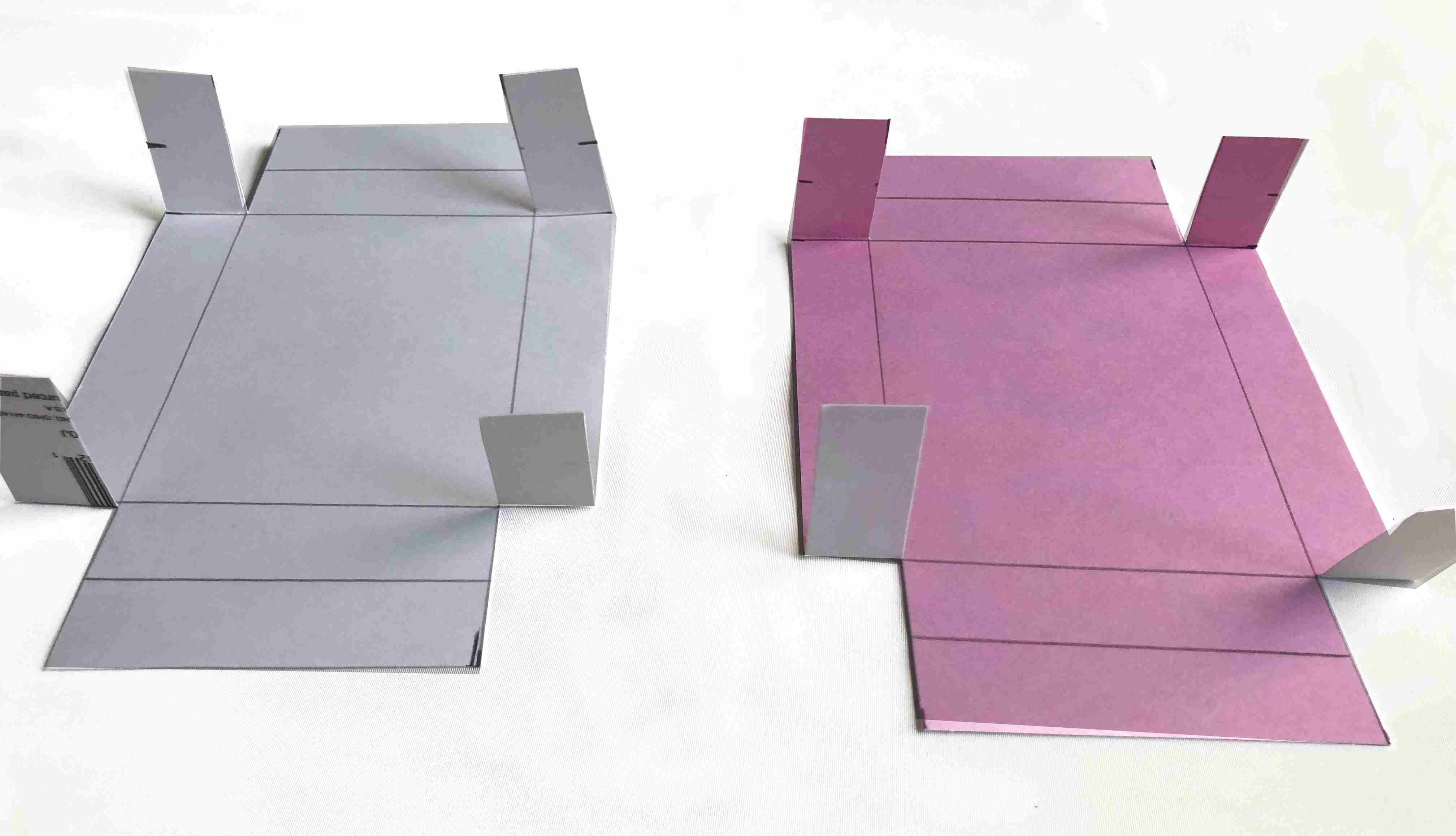 cut and fold cards