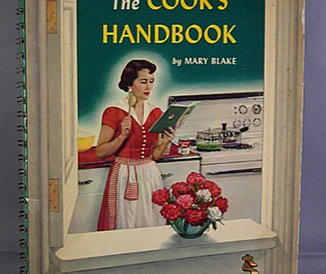 The Cook's Handbook Autographed by Gracie Allen (Wife of Comedian George Burns)