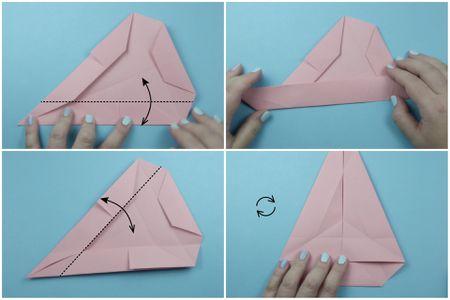 Origami Cake Box Tutorial