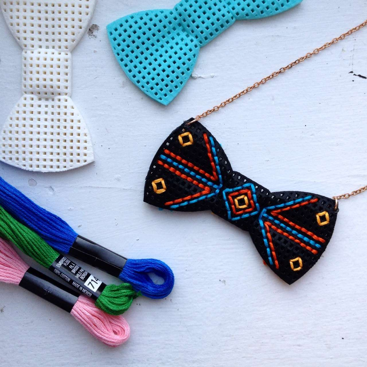 3D Printed Stitchable Bow Tie Kit