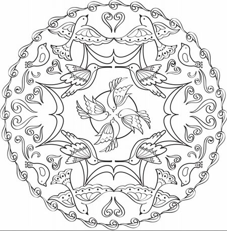 3,743 Free, Printable Coloring Pages for Adults