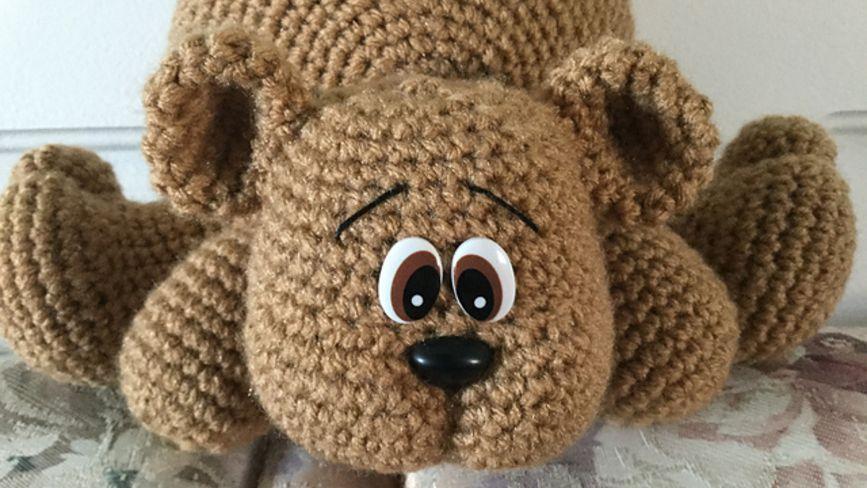 Amigurumi Bear in Sweater | 488x867