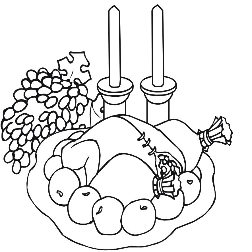 Print These Free Turkey Coloring Pages For The Kids