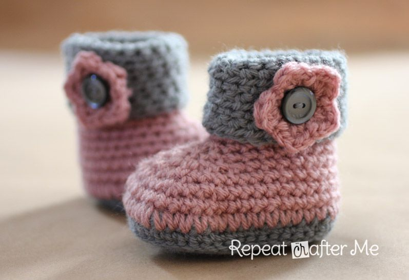 40 Adorable Baby Bootie Crochet Patterns Classy Free Crochet Patterns For Baby Booties