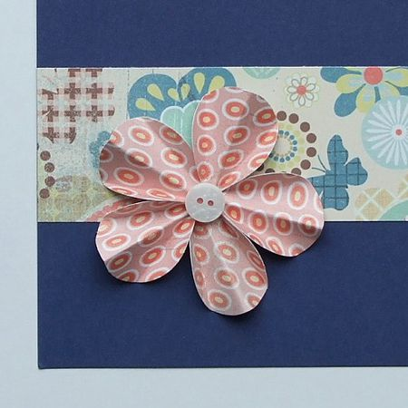 How To Make Flowers For Scrapbooking And Cards