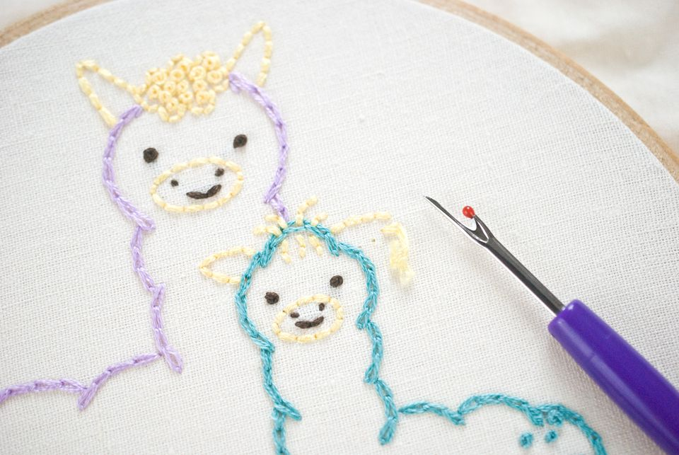 Ripping Out Embroidery Stitches