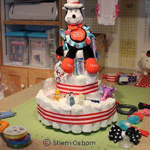 Ideas for Decorating a Diaper Cake