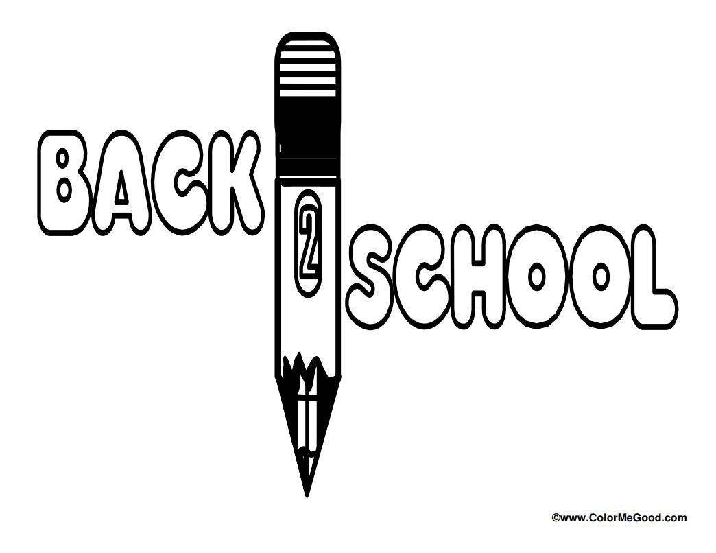 11 Sources for Free Back to School Coloring Pages