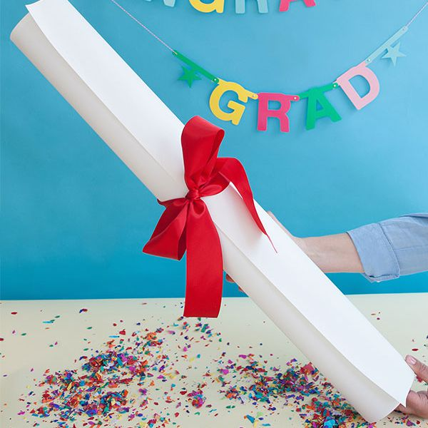 DIY Giant Diploma Gift
