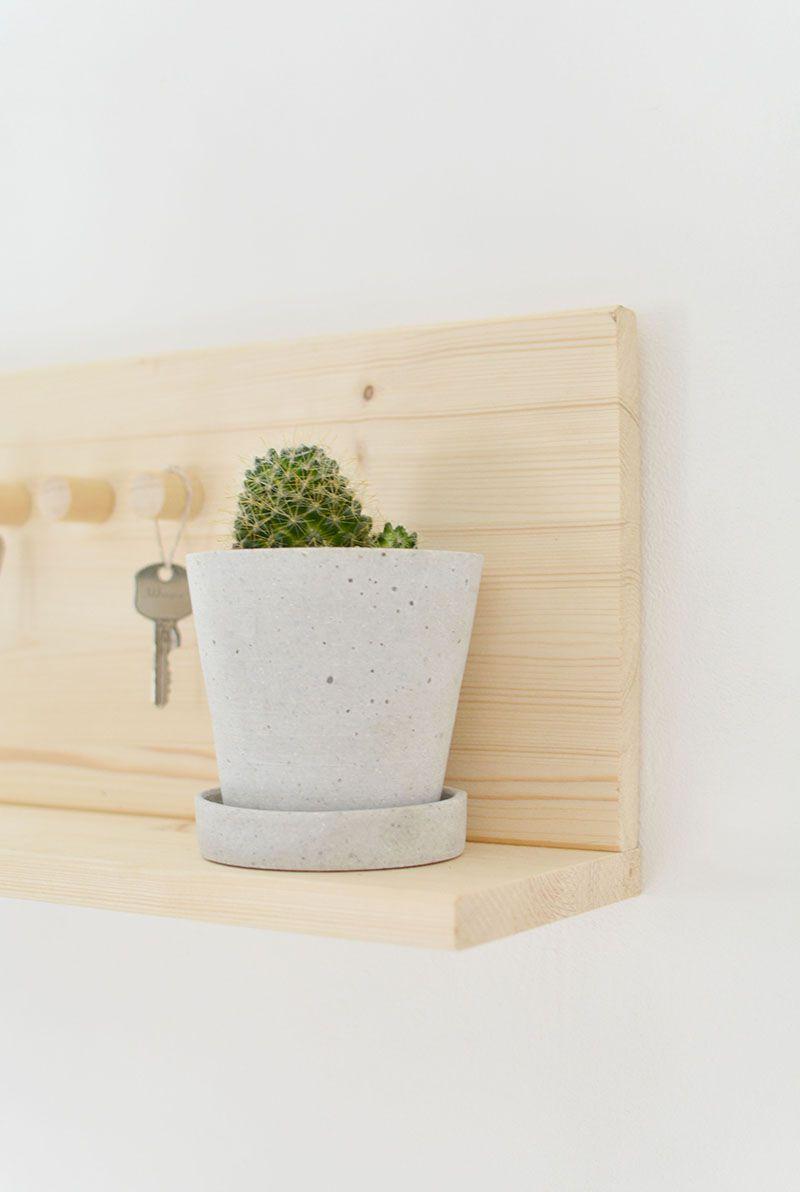 Shelf Key Holder