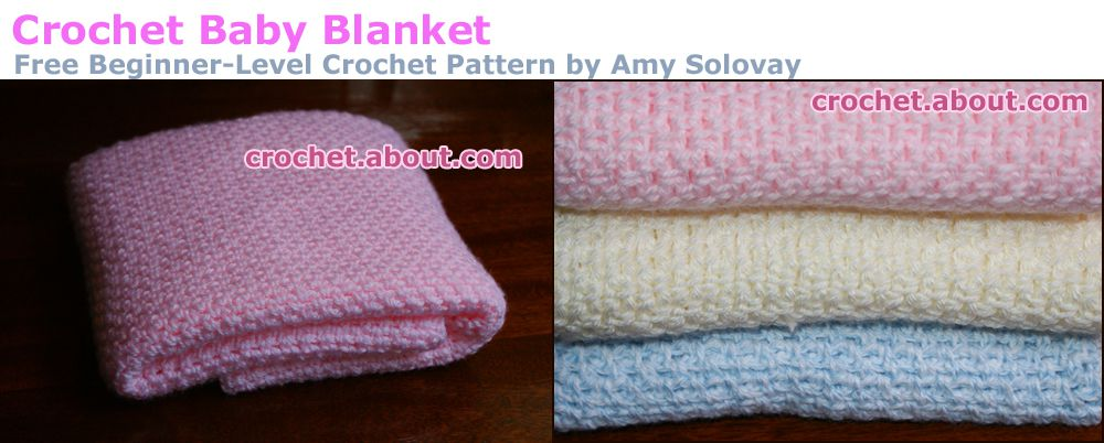 You Can Crochet Gorgeous Baby Blankets Like These With Our Free Patterns.