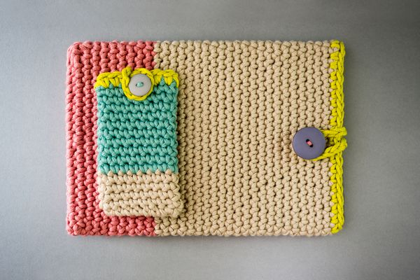 Beautiful Crocheted Mobile Phone and Tablet Sleeves