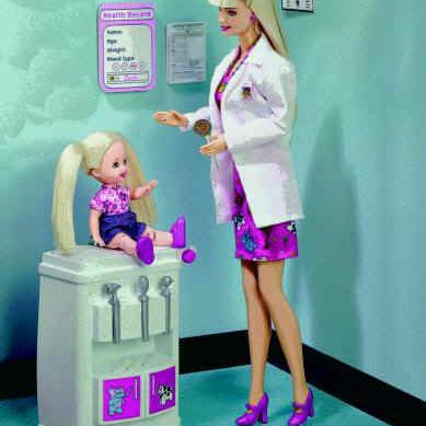 Barbie and Kelly Children's Doctor