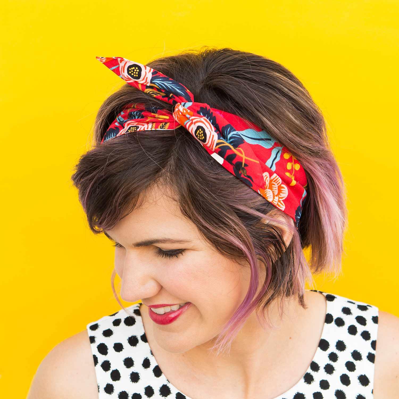 No-Sew Wire Headband