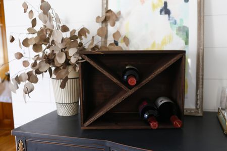 Simple DIY Wine Rack