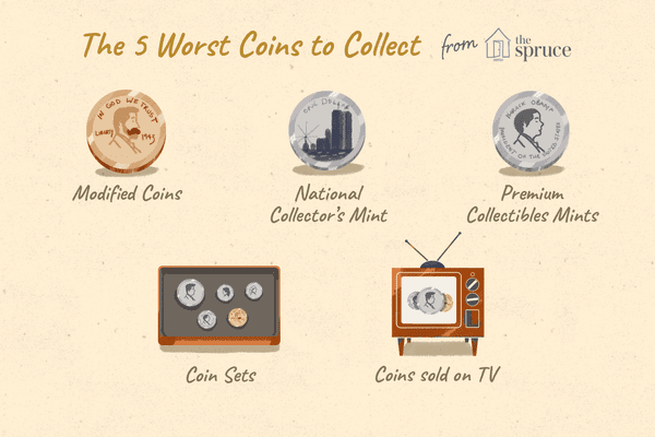 illustration of the worst coins to collect
