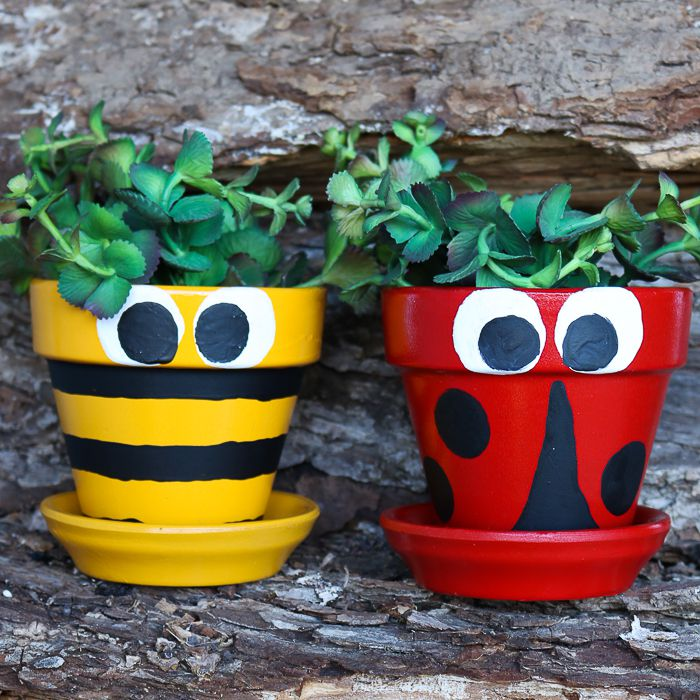 Painted Flower Pots You Can Create For Your Garden