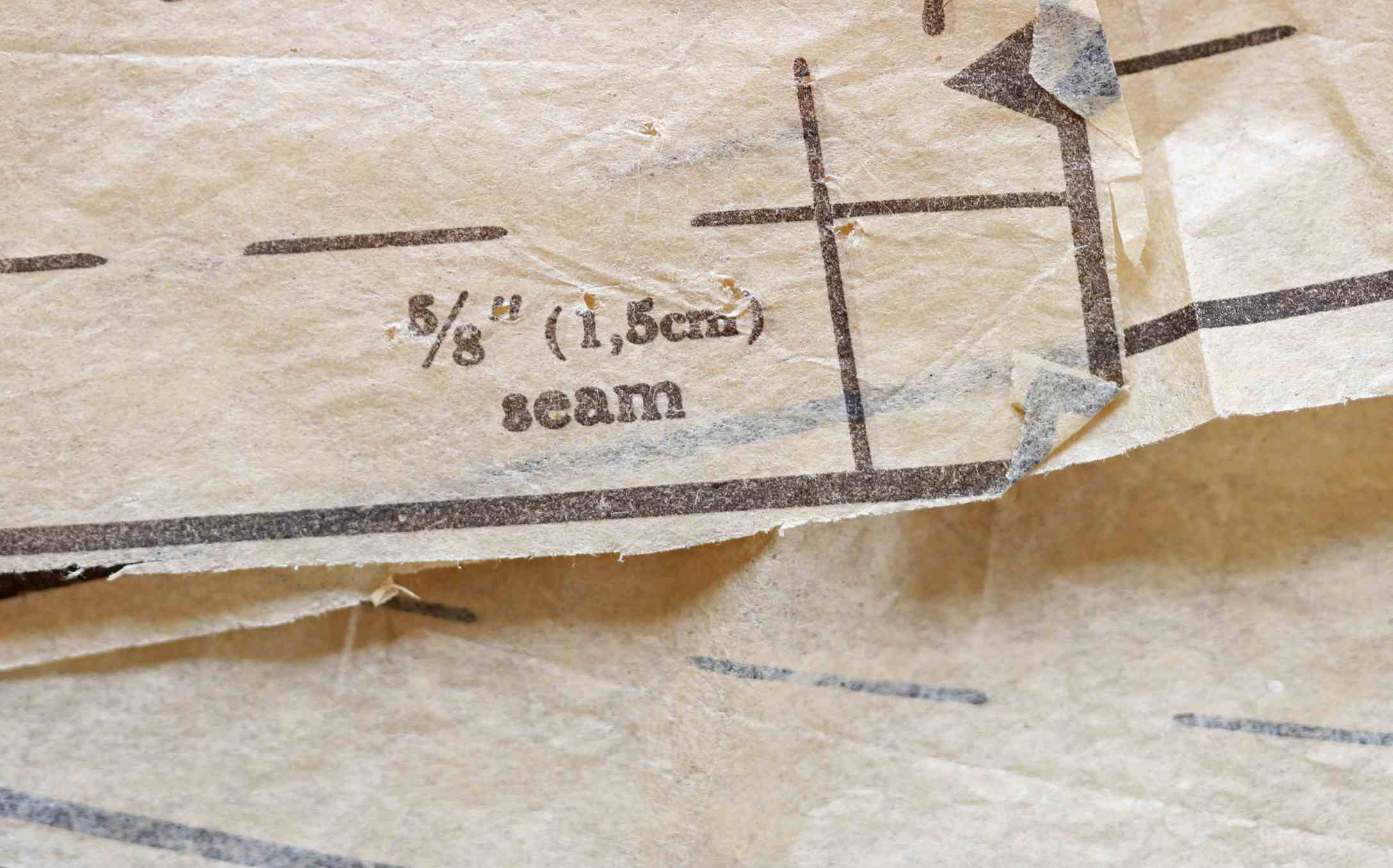 Seam pattern