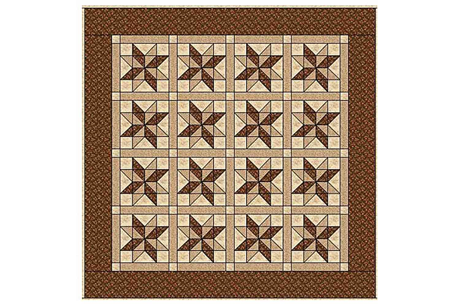 Sarah's Choice Quilt in a Horizontal Setting
