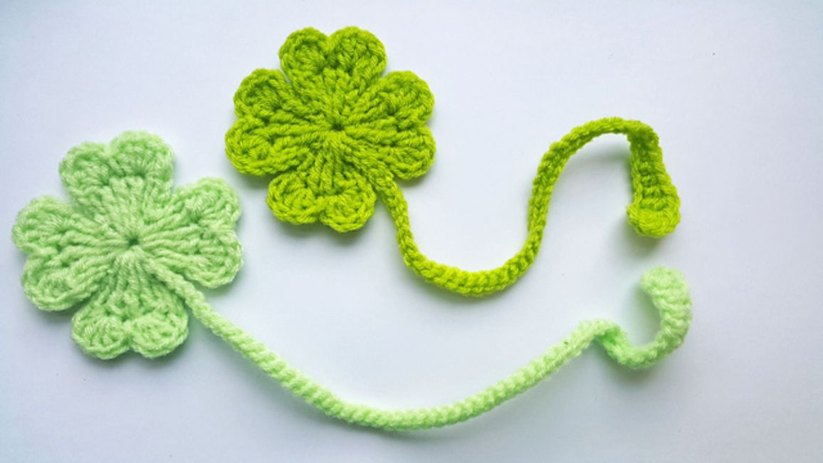 12 Free Shamrock Crochet Patterns