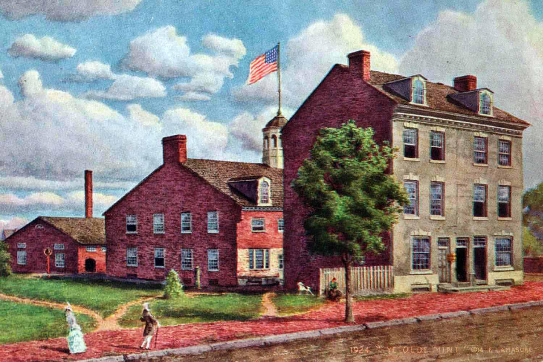 The First Philadelphia Mint