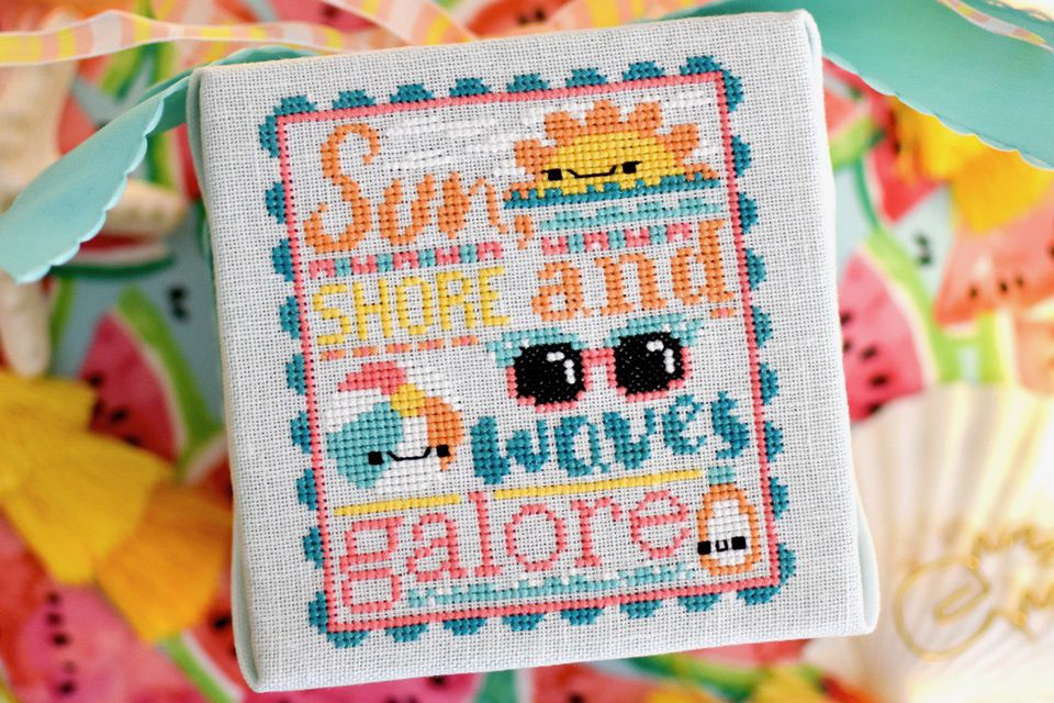 Waves Galore Cross Stitch Pattern