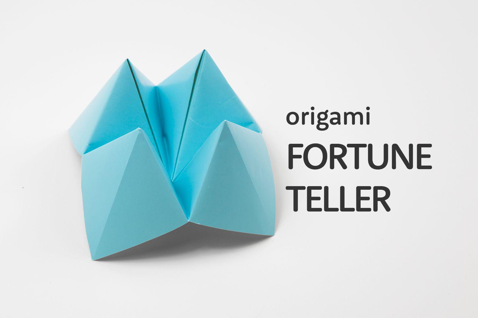 Origami cootie catcher