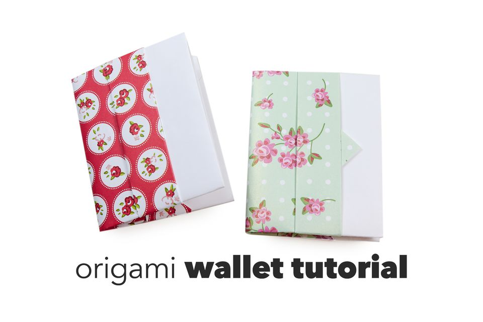 origami wallet tutorial