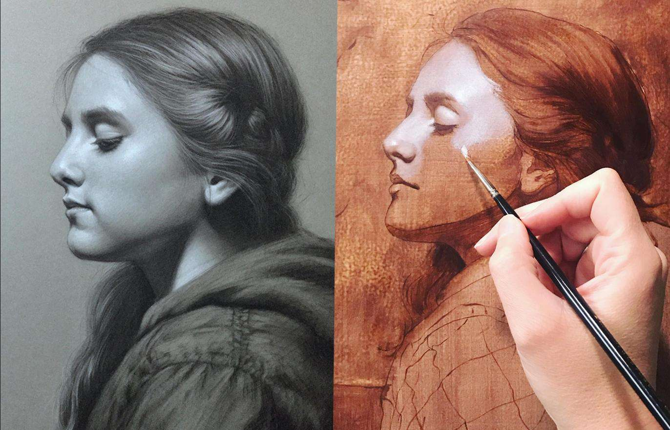 master oil painting techniques