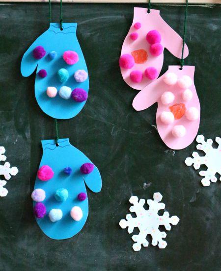 24 Pom Pom Crafts For Kids