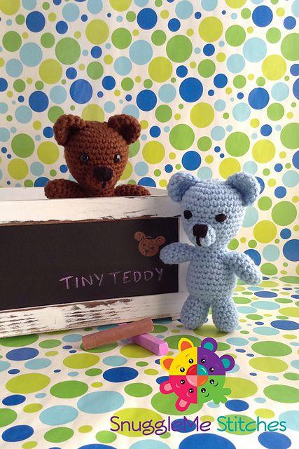 Tiny Teddy Free Crochet Pattern