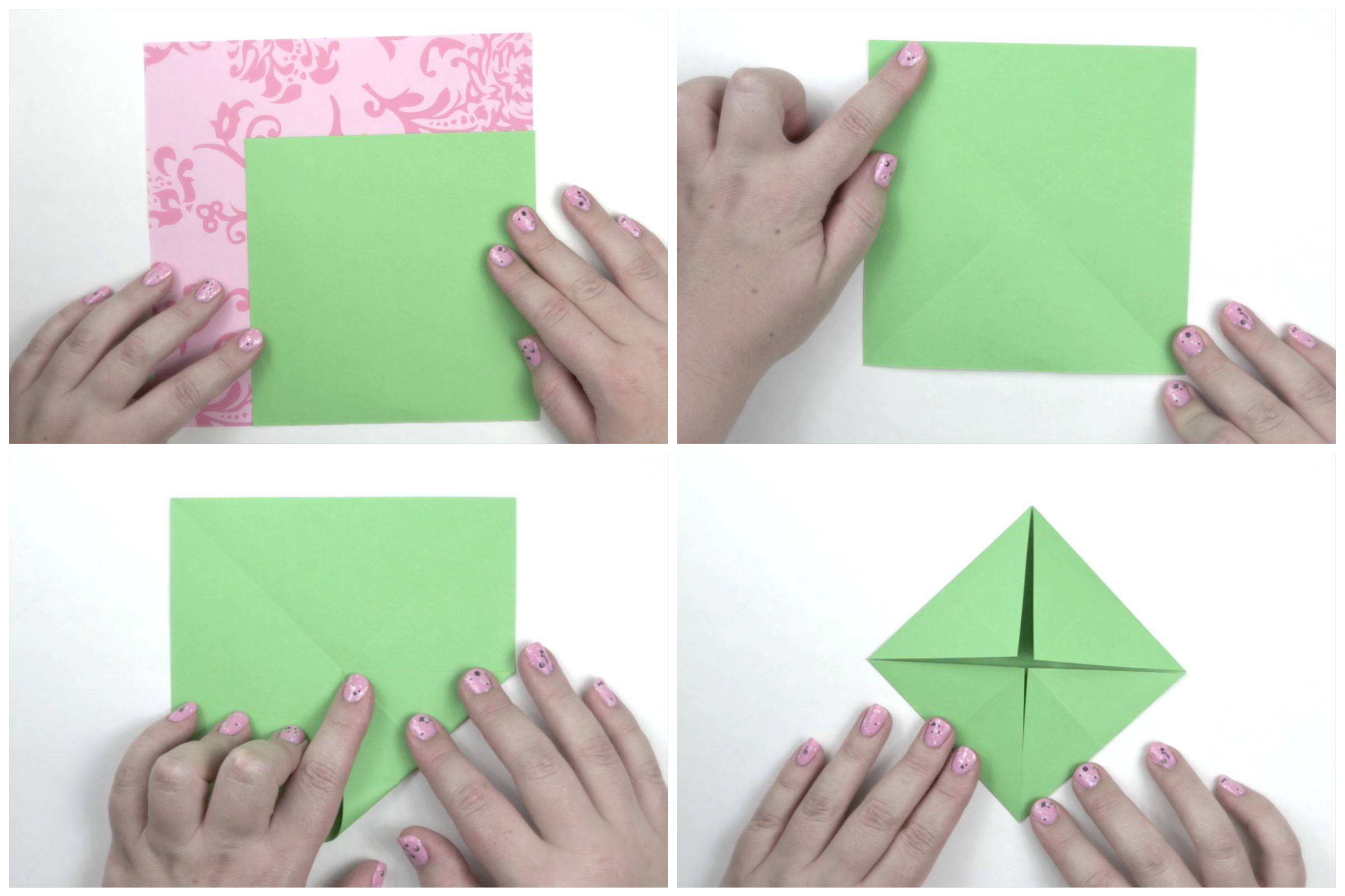 Origami Lotus Leaf Tutorial