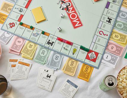 Monopoly board game properties
