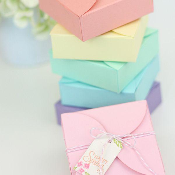 DIY Petal Gift Boxes