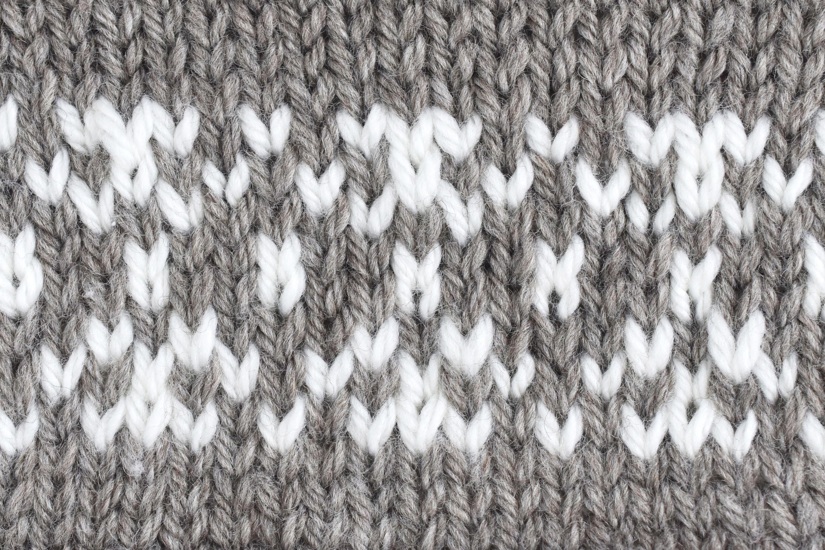 Stranded Knitting Sample