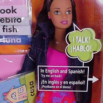 Spanish Teacher Barbie