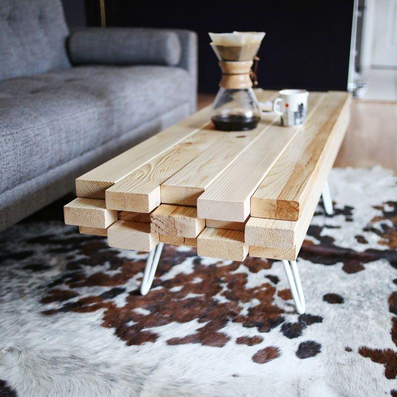 DIY Plywood Coffee Table