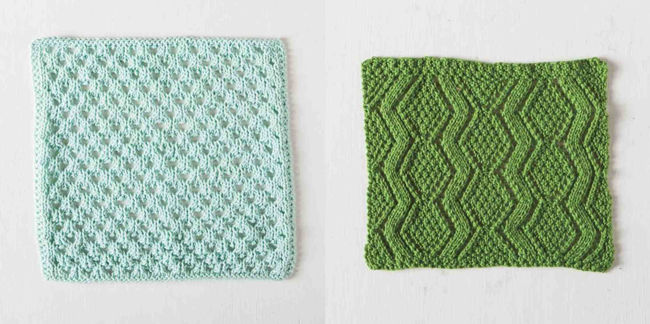 Dishcloth Knitting Patterns New Design Ideas