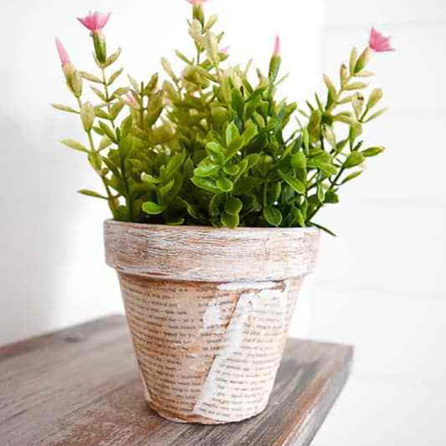 book craft planter