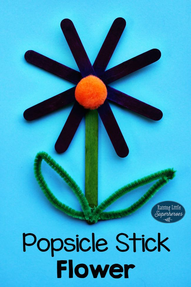 15 Popsicle Stick Crafts For Kids
