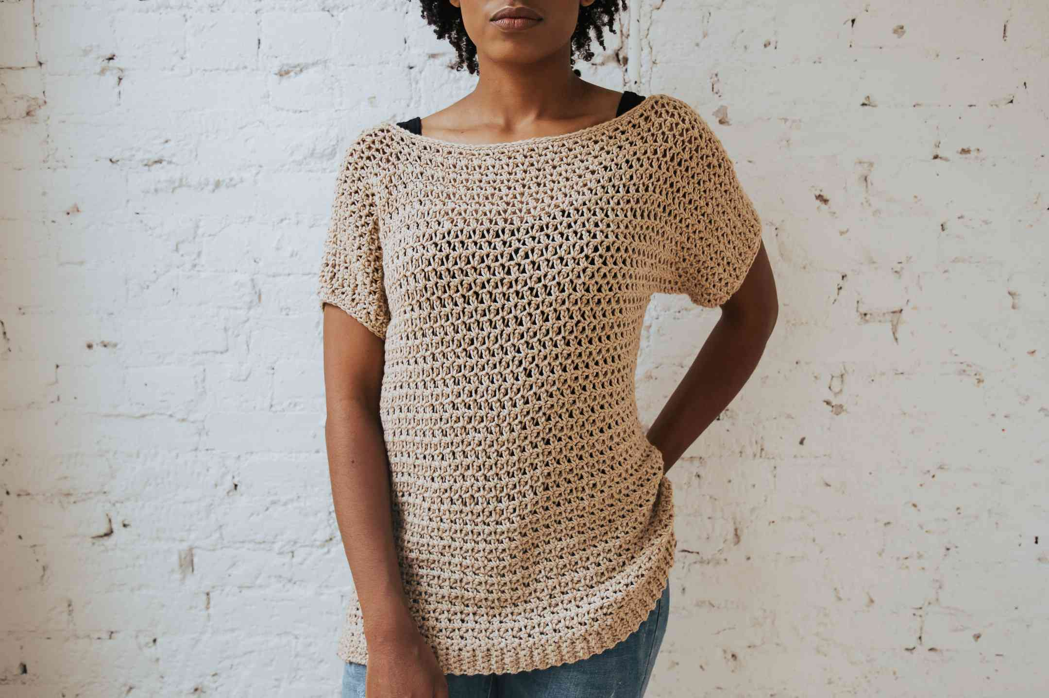 Summertime Tee Crochet Pattern