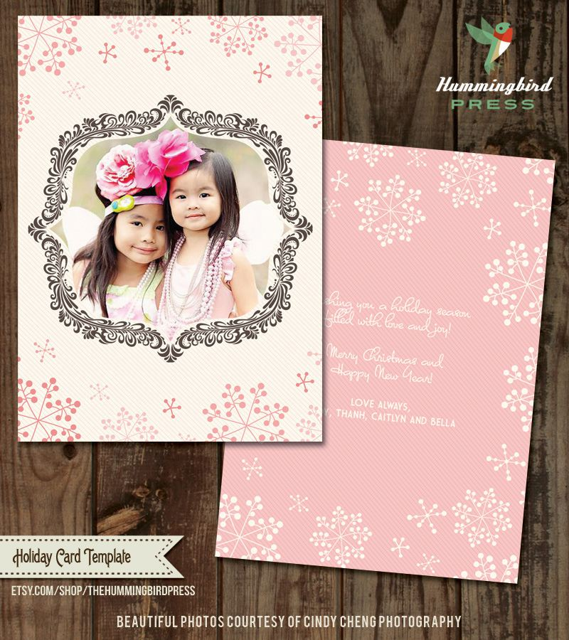 41 free christmas card templates for photo cards - Free Photo Christmas Card Templates