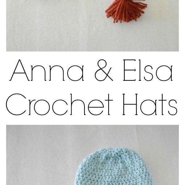 Frozen crochet hats