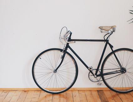 A vintage bicycle