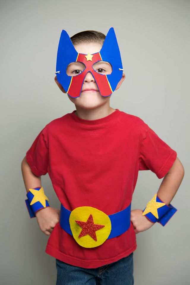 14 Diy Superhero Costume Ideas