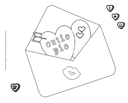 Valentine Coloring Pages From Parents A Homemade