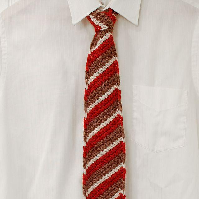Tunisian Crochet Necktie Free Pattern