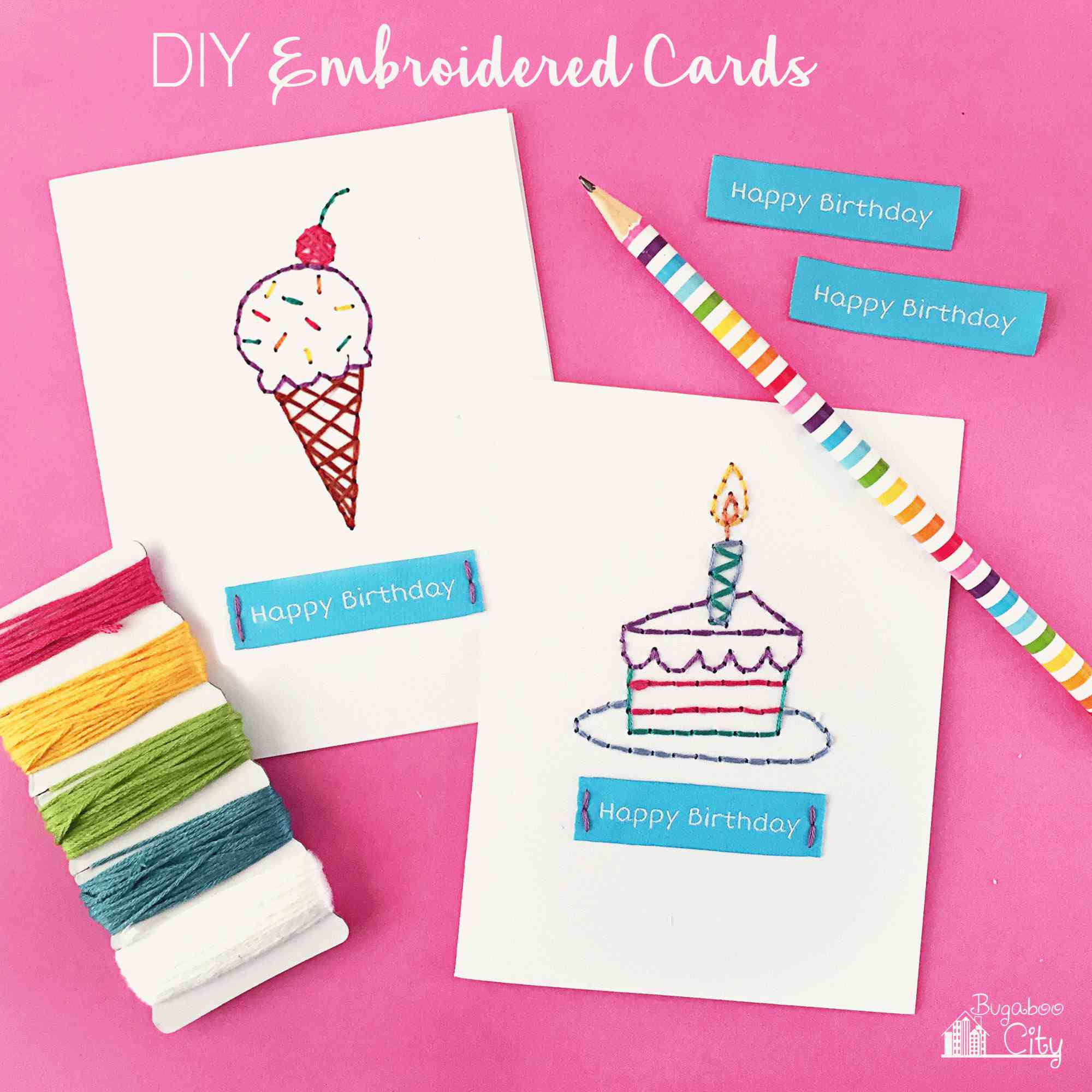 Get Inspiration From 25 Of The Best Diy Birthday Cards