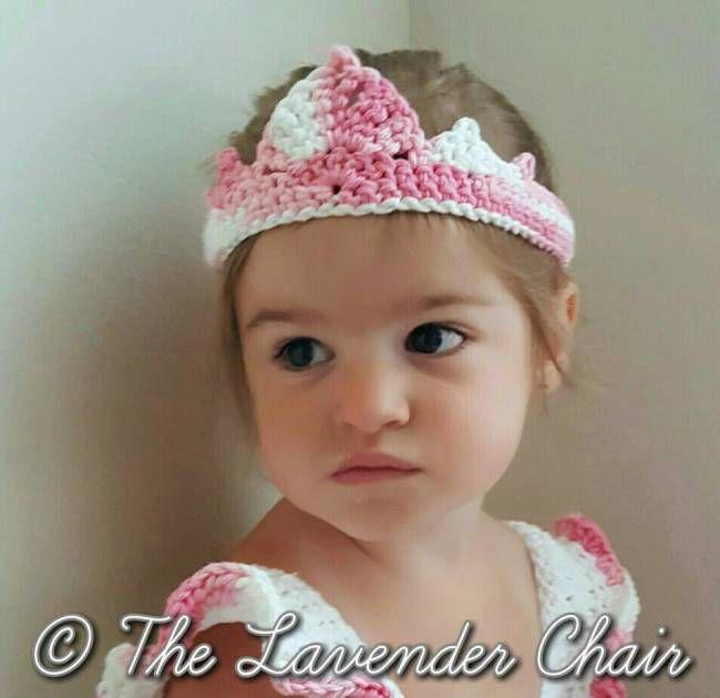 Valerie Princess Crown Crochet Pattern