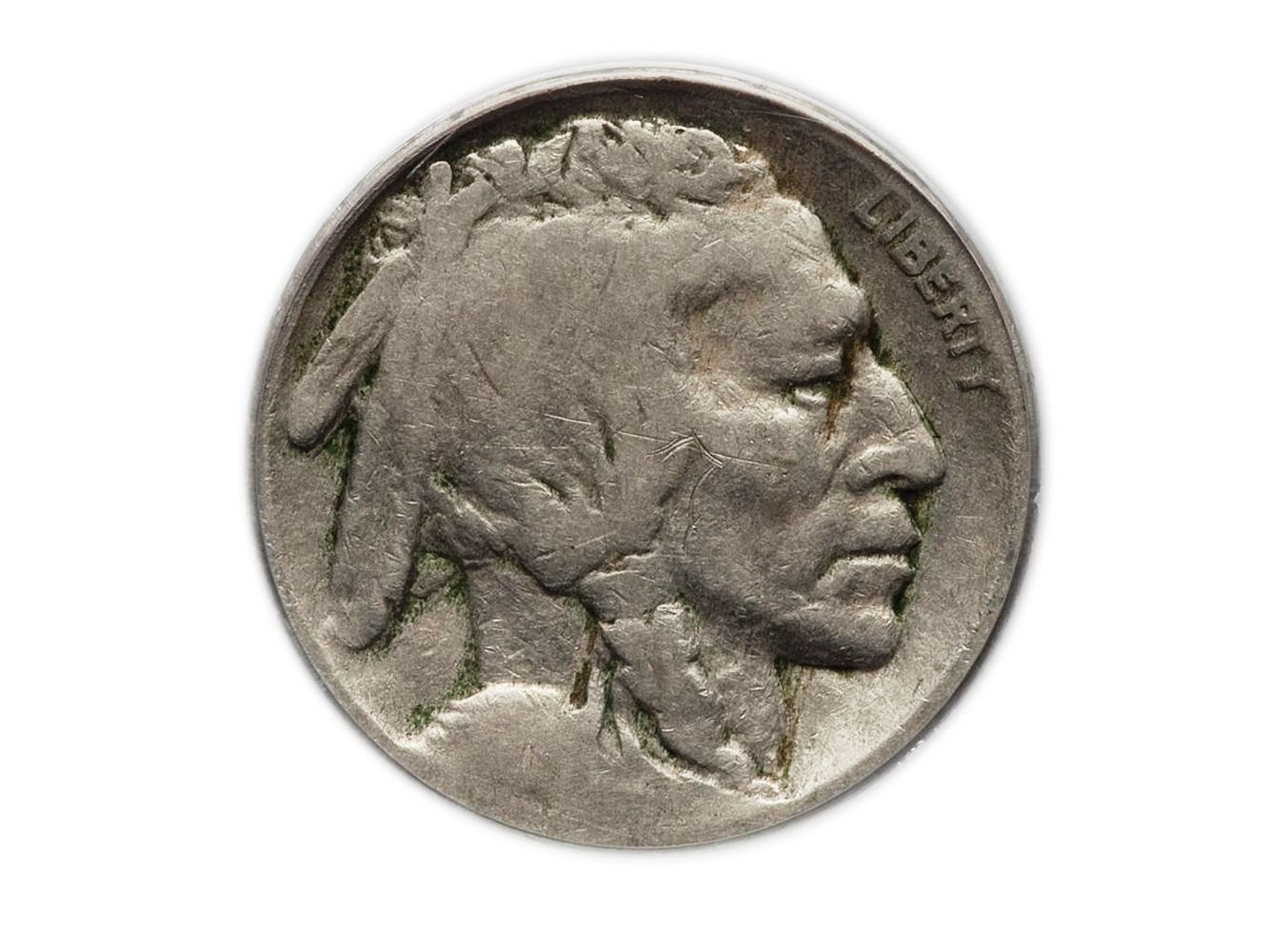 Average Circulation KEY DATE 1938 D Indian Head Buffalo Nickel Old US Coin